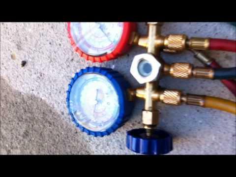 Carga de Gas R22 Ar Condicionado ACJ Janela