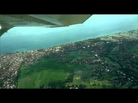 Cross Country Flight To Kubu Tambahan, North Bali