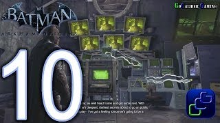 BATMAN: Arkham Origins Walkthrough Part 10 Enigma's HQ
