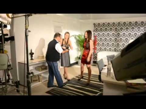 Detrás de cámaras con Doris y María Alejandra