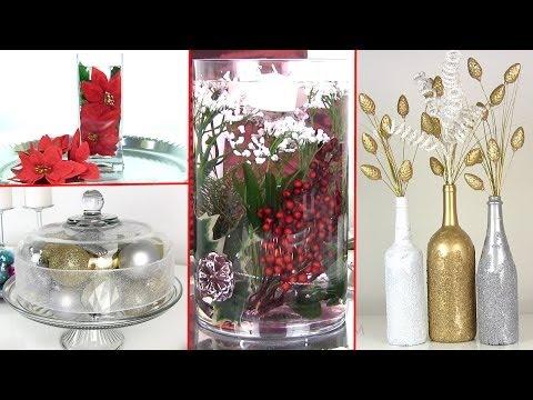 8 DIY Holiday Room Decorations & Gift Ideas - 8 DIY  Karácsonyi kreatív dekoráció