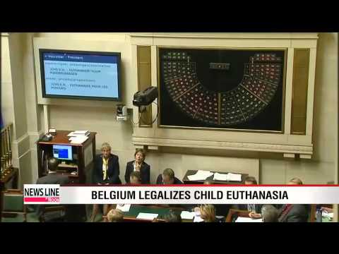 Belgium becomes first country to legalize child euthanasia