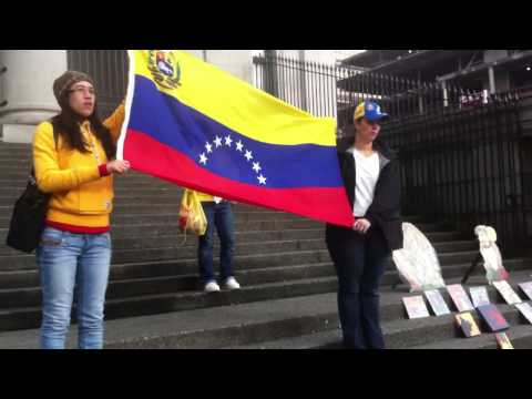 Venezuelan protest in Vancouver