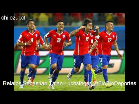 Mundial Brasil 2014 Fecha 1 Chile 3-1 Australia Radio Biobio Deportes