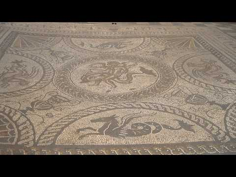 Fishbourne Roman palace Chichester West Sussex