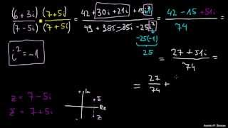 Deljenje kompleksnih števil
