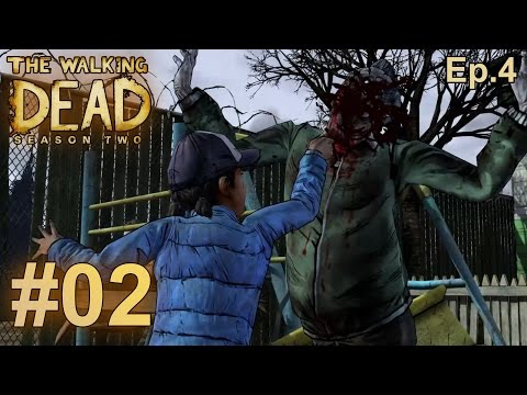 The Walking Dead Season 2: Episode 4 Walkthrough Part 2 - Bonding with Jane