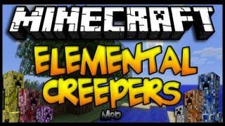 Minecraft 1.6.4 Como Instalar ELEMENTAL CREEPERS MOD