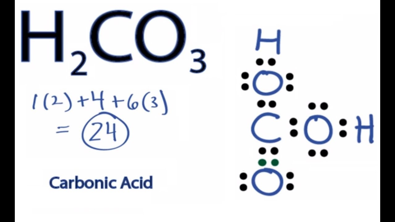 Caco3 Lewis Structure
