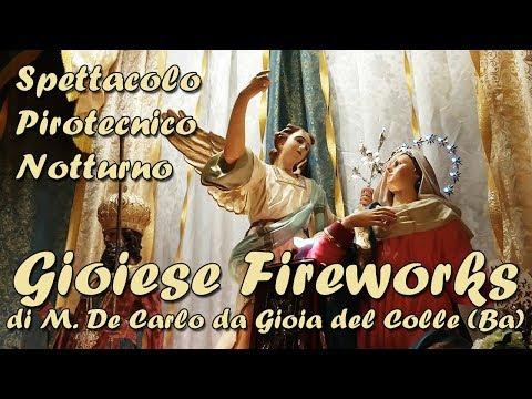 ARADEO (Le) - Beata Vergine Annunziata 2018 - GIOIESE Fireworks