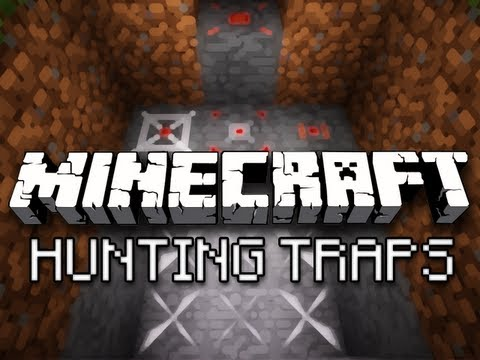 Minecraft: Punji Pits, Invisible Pressure Plates, And More - Hunting Traps Mod Showcase