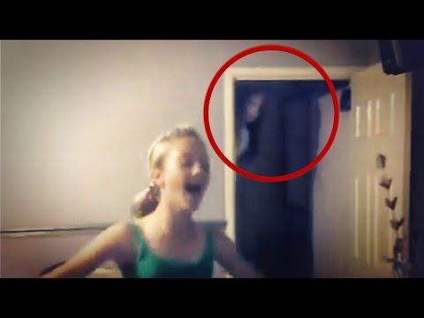 Real Scary Video of Ghost caught on tape | Fantasma Real