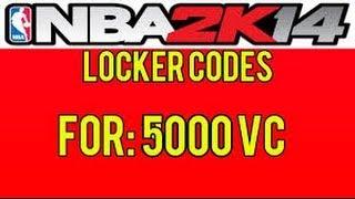 My Career NBA2k14 Free 5000 VC Locker Code Good For 200