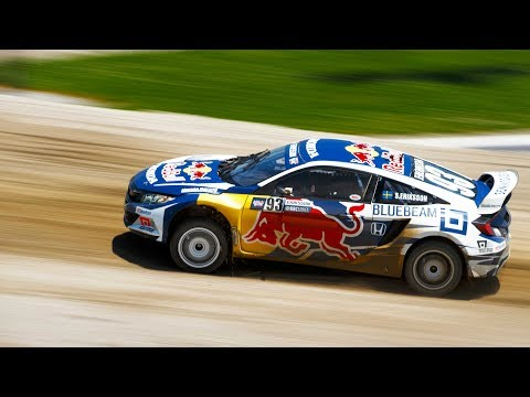 Red Bull Global Rallycross Makes Debut in Indianapolis | Action Highlights
