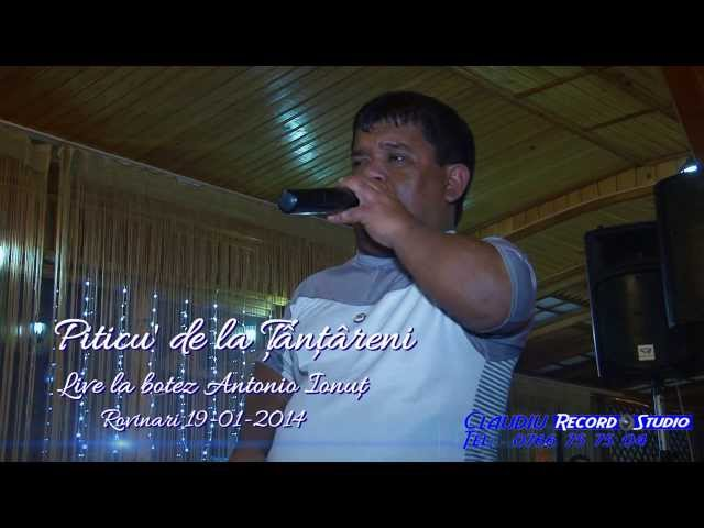 Piticu de la Tintareni LIVE Botez Antonio Ionut 19-01-2014 Imagine si Sunet Claudiu: Record Studio