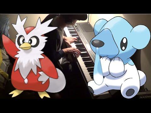 Pokemon X/Y - Snowbelle City for Piano Solo!