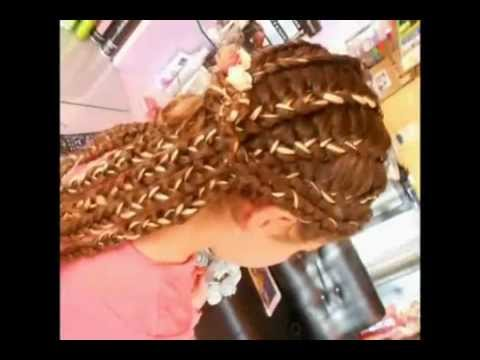 Parukeri Jonida braided hair (gersheta)