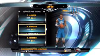 NBA 2K14 MyCareer Purchases (Gear, Signature Skills, And