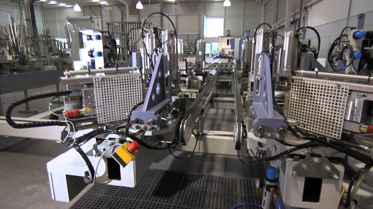 Fabrica automatizada puertas ventanas de aluminio y pvc - Fabrica puertas madrid ...