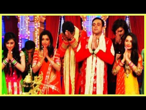 Kratika Sengar,Pooja Bose And Sumeet Raghvan At SAB TV's Diwali Celebration