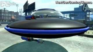 How To Get A UFO In GTA IV