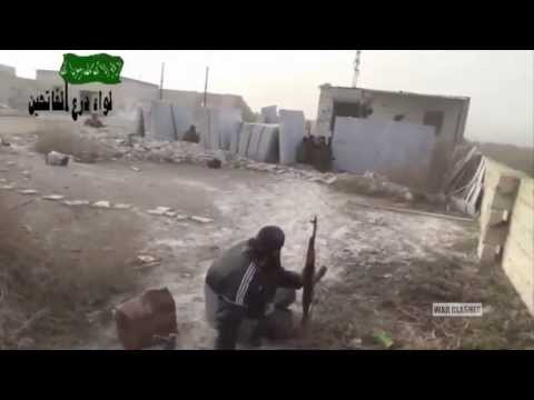 Heavy Intense Clashes As Syrian Rebels Storm City Of Khan Sheikhun | Syria War 2014