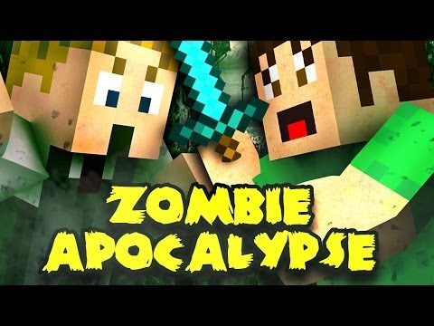 MINECRAFT: ZOMBIE APOCALYPSE Part 1 | Toby & Tim