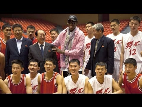 North Korea: Dennis Rodman oversees basketball tryout