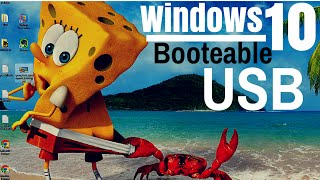 Como Crear Una Memoria USB Booteable Con Windows 10