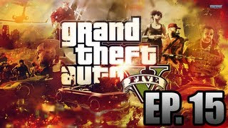 Grand Theft Auto 5 Walkthrough *LIVE* (Nervous Ron) Ep. 15
