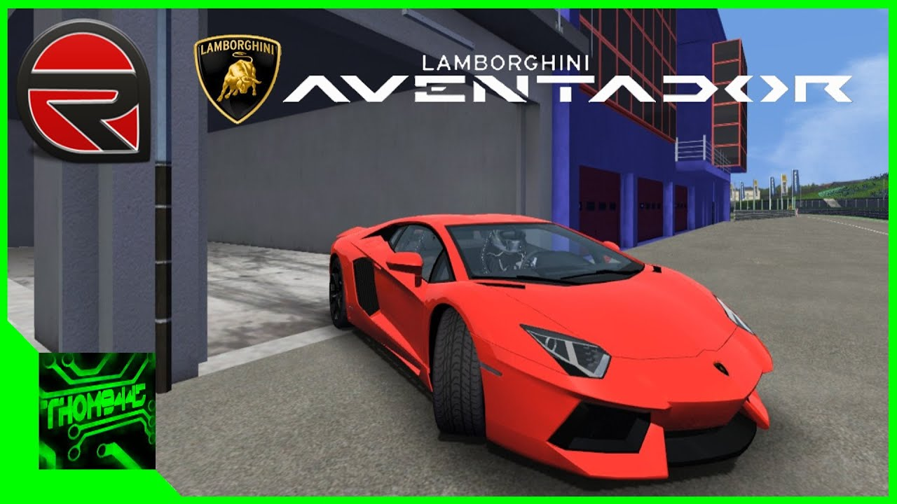rfactor essai lamborghini aventador youtube. Black Bedroom Furniture Sets. Home Design Ideas