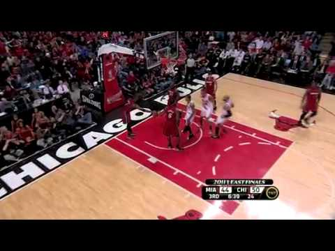 NBA Playoffs 2011: Miami Heat Vs Chicago Bulls Game 5 Highlights (4-1) Miami Won The Series