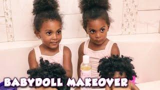 BABY-DOLL NATURAL HAIR MAKEOVER