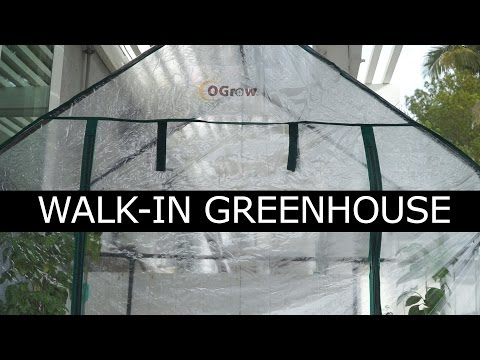 Grow All Year Long Using A Walk-In Greenhouse