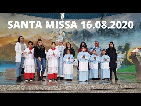Santa Missa | 16.08.2020 | Domingo | Padre José Sometti | ANSPAZ