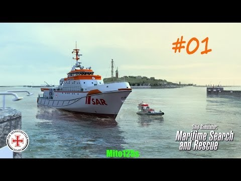 Ship Simulator: Maritime Search and Rescue #01 - w/FaceCam