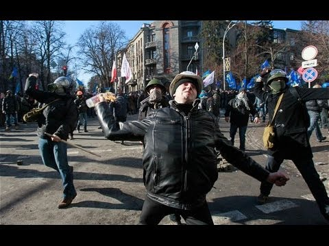 Russian Troops Strike: Violence Erupts In Ukraine