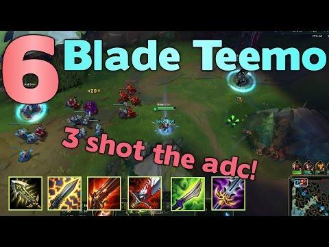 6 BLADE TEEMO (MINUS ONE GUN)