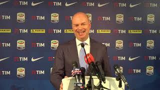 Milan, le parole di Fassone all'uscita dalla Lega