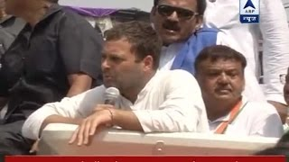 For the first time, Narendra Modi has acted like PM: Rahul..