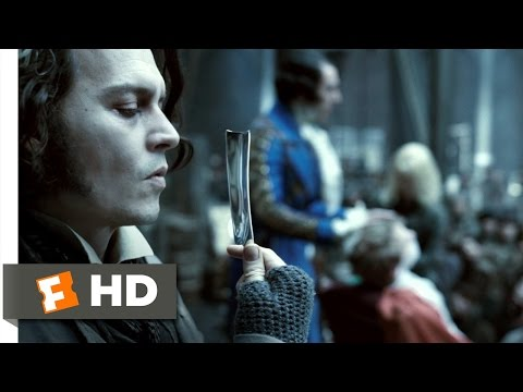 Shaving Contest, extrait de Sweeney Todd, le diabolique barbier de Fleet Street (2007)