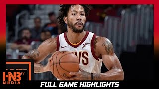 Derrick Rose (20 pts) Full Highlights vs Wizards / Week 3 / Cavaliers vs Wizards