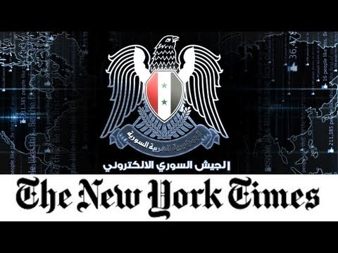 Syria Attacks the New York Times