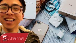 Tân 1 Cú từ Úc mở hộp & đánh giá iPhone 8 | 8 Plus đầu tiên bán ra trên THẾ GIỚI