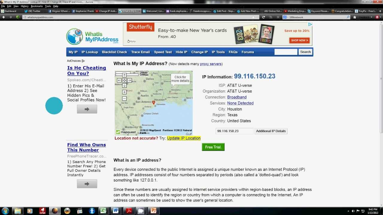 How To Find Your IP Address | IP Address - YouTube