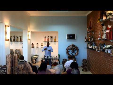 Pai Francisco Borges ensinando sobre espiritualidade (11) 3255 2005