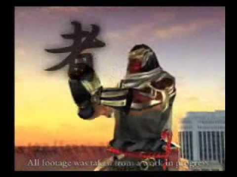 Tekken 5 Raven's Kuji-in In Tekken, Raven's Kuji-in from Tekken 5 trailer.