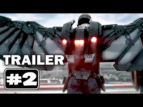 CAPTAIN AMERICA 2 Trailer 2 [HD 1080p]