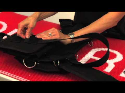 How to Attach a 32lb Weight Pocket to a TransPac Harness