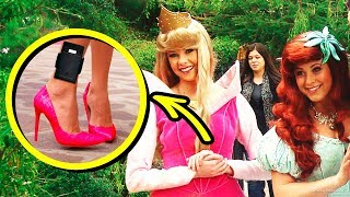 10 Big Secrets Disneyland Princesses Can't Tell Anyone